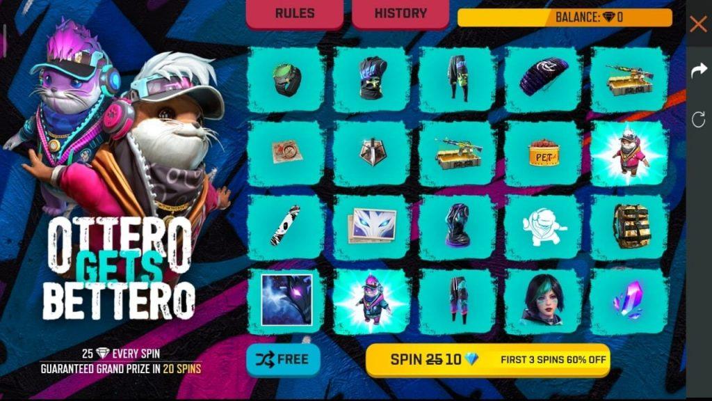 Free Fire Ottero Gets Bettero Event: Win Ottero Pet & Neon Ottero Skin