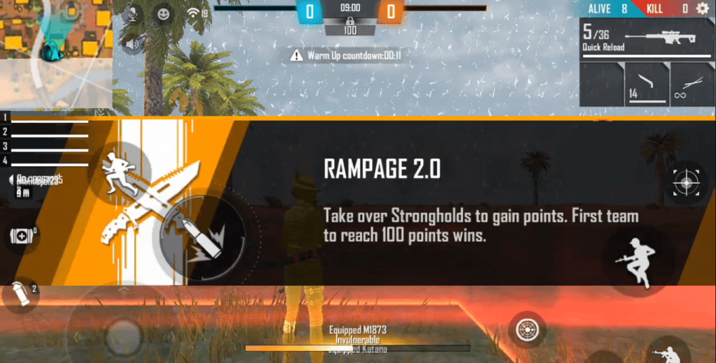 Free Fire Rampage 2.0 Mode - Revised: Guide, Tips & Tricks