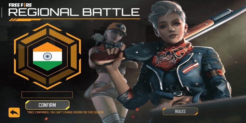 Free Fire Regional Battle Event Season 2 Complete Details