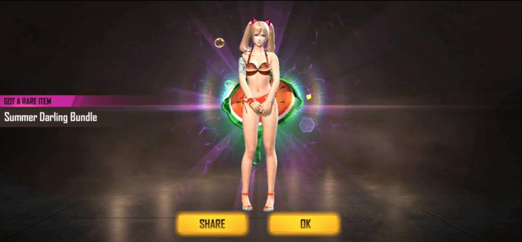Free Fire Beach Party Top Up Event Details