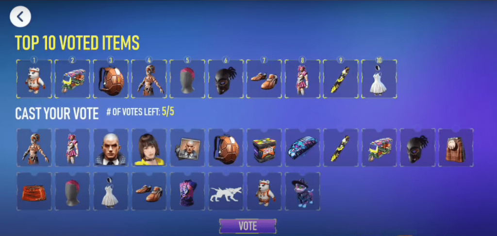 Free Fire Vote For Discount Event: Get 80% Off On Your Favorite Items