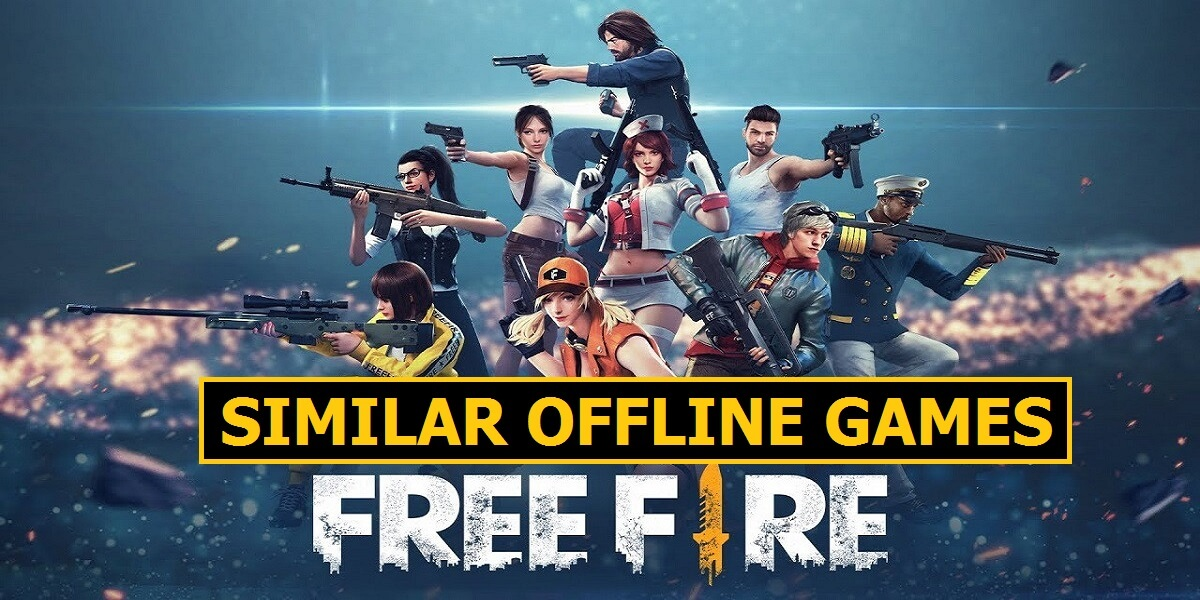 Top 5 Offline Games Like Free Fire For Android Mobile Mode Gaming