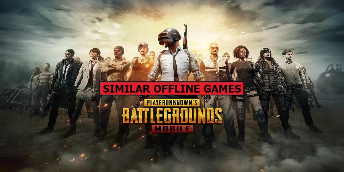 5 Best Offline Games Like Pubg Mobile Mobile Mode Gaming