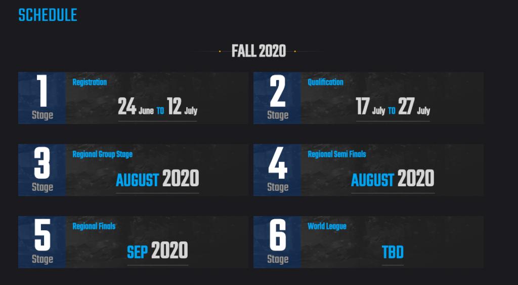 PUBG Mobile Club Open Fall Split 2020 Guide: Registration, Prize Pool, Schedule