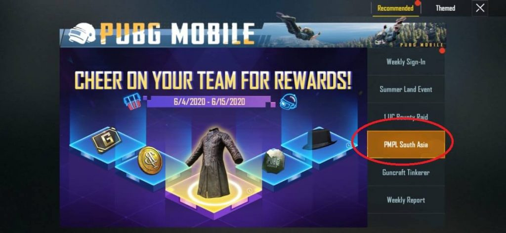 PUBG Mobile: Watch PMPL and Earn Free Rewards