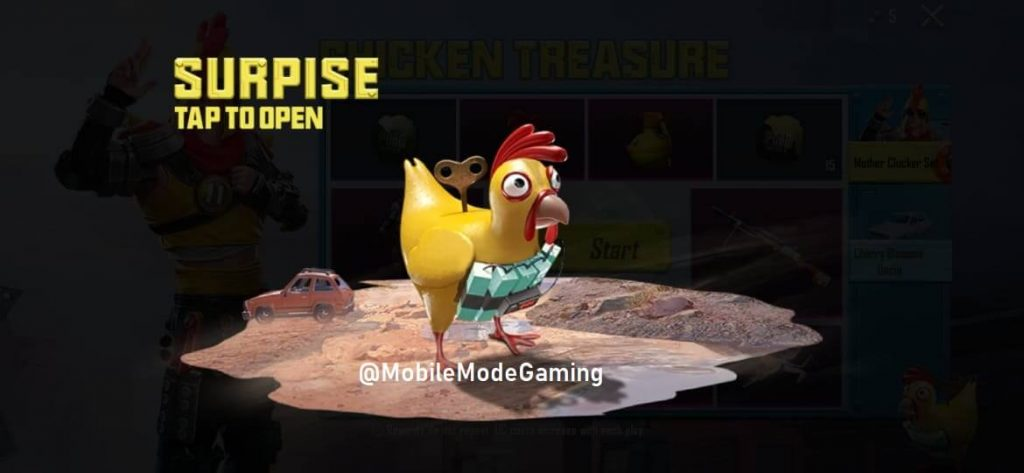 PUBG Mobile Free Premium Crate Coupon From Chicken Treasure Event