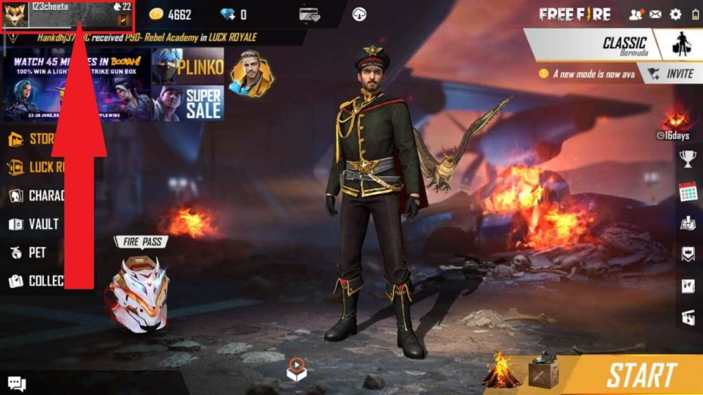 How To Find Free Fire Player ID / Charater ID And IGN?