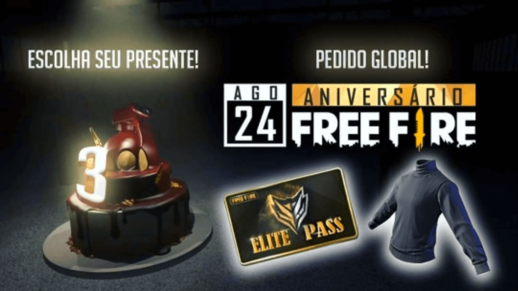 Free Fire 3rd Anniversary Event: Date, Rewards & Other Details