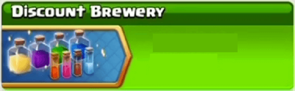 Clash of Clans Event Updates July End - Discount Brewery & Gibarch