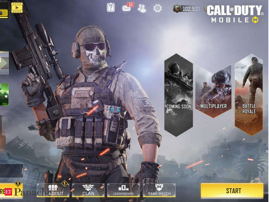 Paytm First Games All Set To Host 'Call Of Duty: Mobile Tournament'
