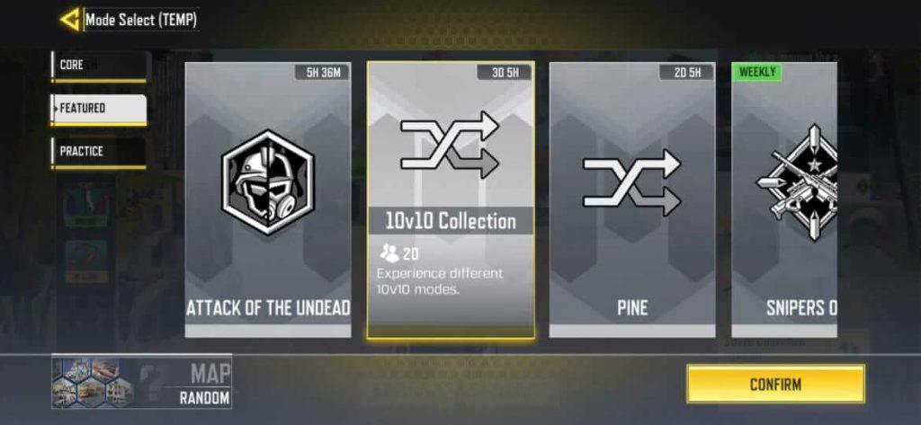 Call of Duty Mobile 10v10 Gamemode Revealed