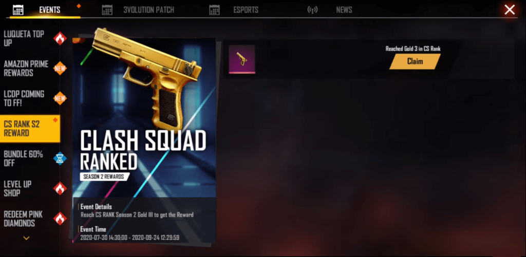How To Get Free Golden G18 Skin In Free Fire
