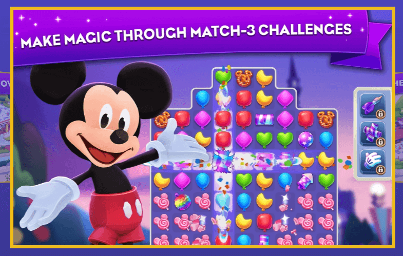 Disney Wonderful Worlds: A New Puzzle Mobile Game Announced