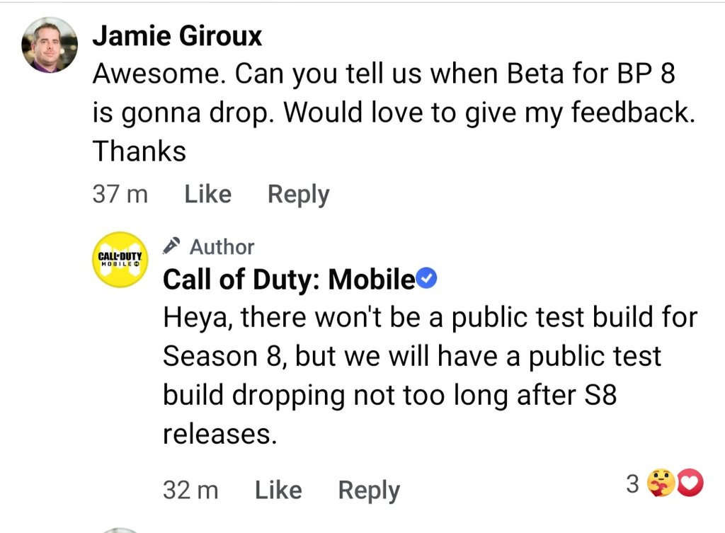 Call of Duty Mobile Season 9 Test Server To Release Next Week