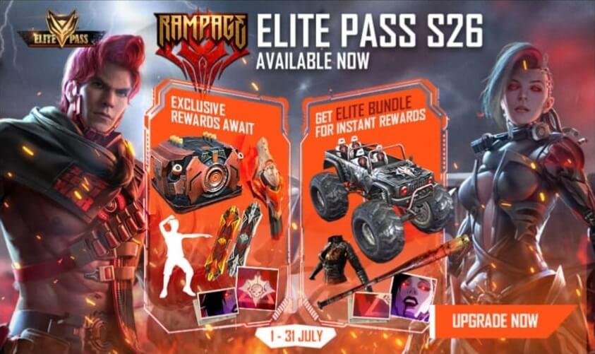 Free Fire Season 27 Elite Pass Release Date Revealed