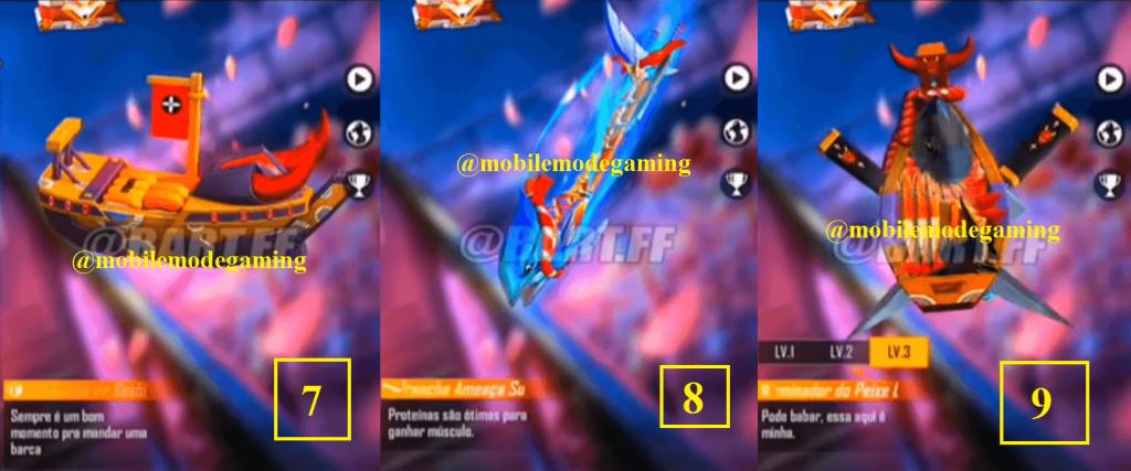 Free Fire Season 27 Elite Pass Rewards Leaked