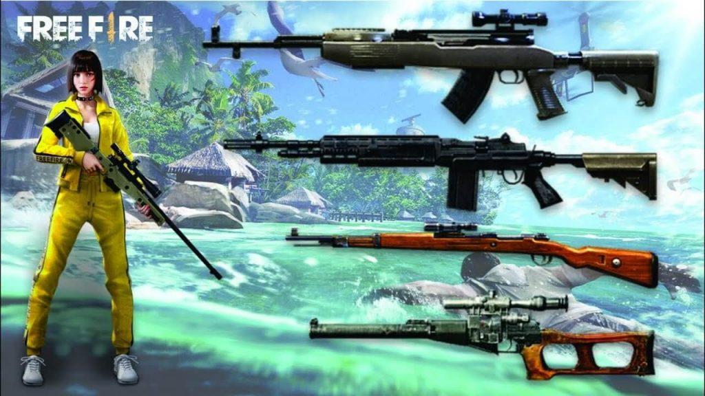 Best Gun Combination In Free Fire