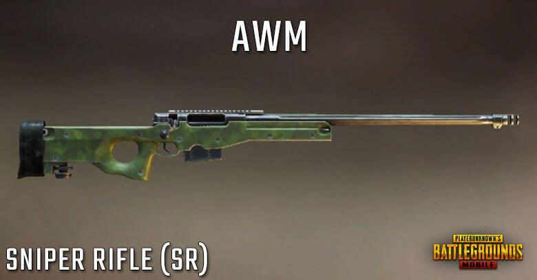 PUBG Mobile: Bolt Action Sniper Rifles' Guide