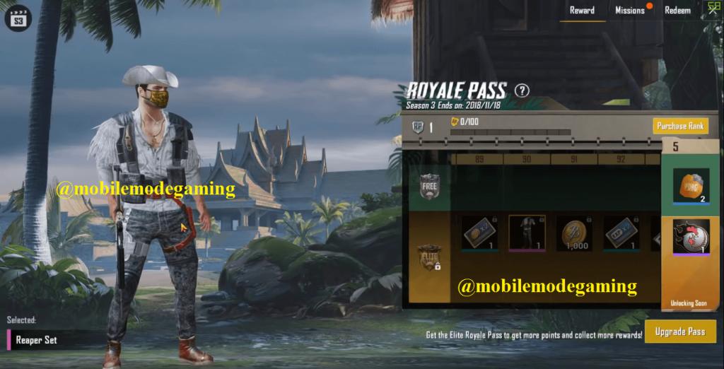 PUBG Mobile All Season Royale Pass (Season 1-14)