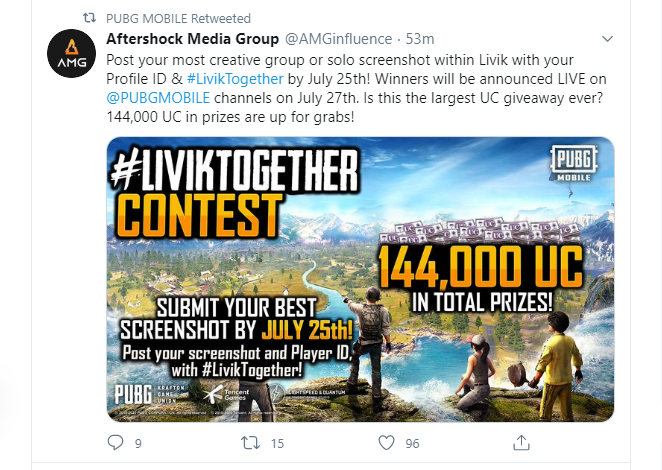 PUBG Mobile is Giving Away 144,000 UC - Here is How You Can Win Some