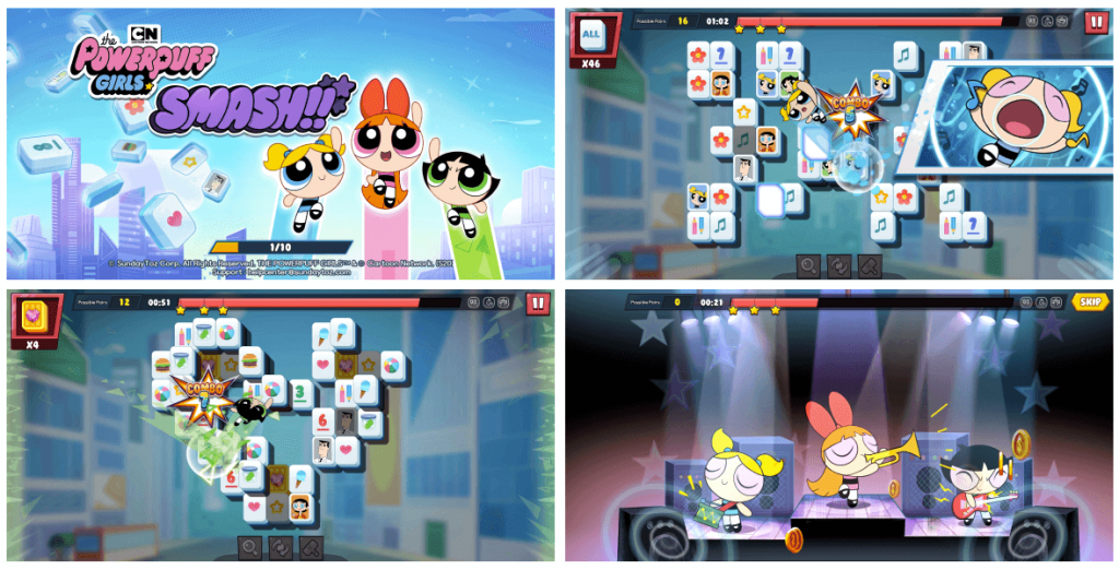 The Powerpuff Girls Smash Pre-Registrations Started By SundayToz In Asia