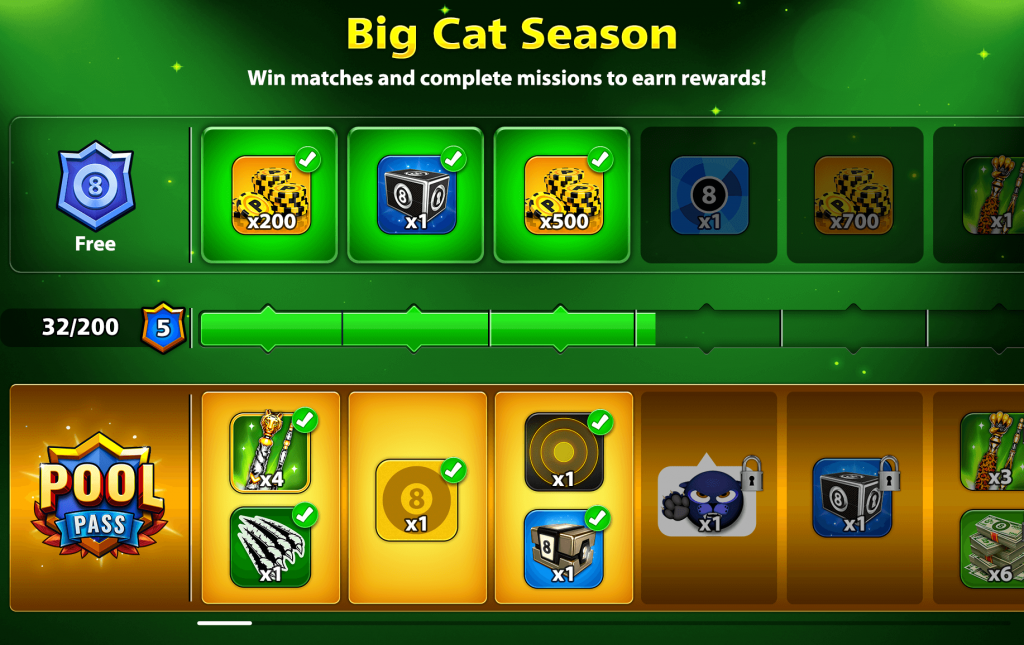 8 Ball Pool: The Cat Season Is Live With New Pool Pass