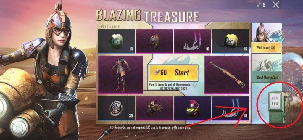 Free PUBG Mobile Premium Crate Coupon From Blazing Treasure Event