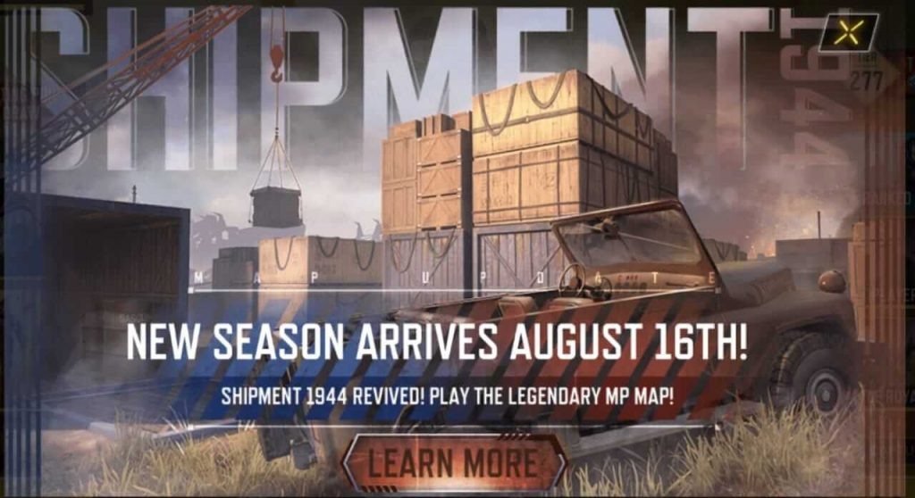 Call of Duty Mobile Season 9 Release Date Officially Announced