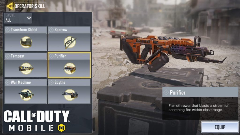 No Weapons To Get Nerfed in Season 9 of Call Of Duty Mobile
