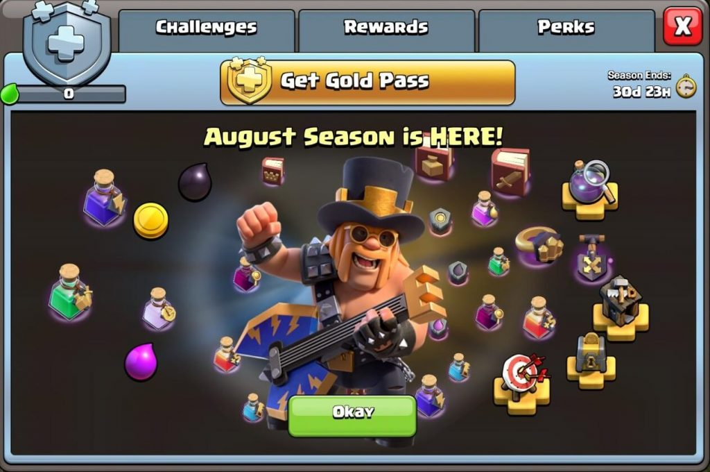 Clash of Clans: August Anniversary Updates and Events