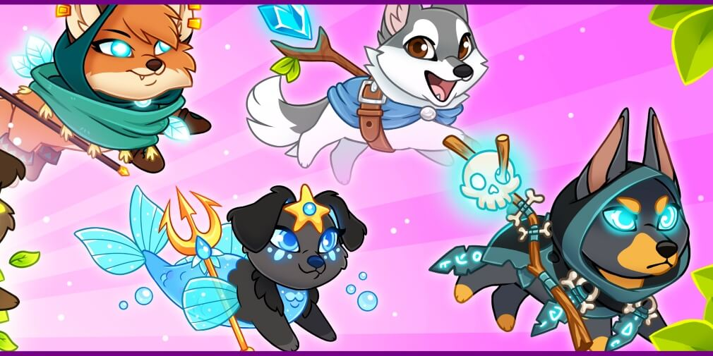 Dungeon Dogs Idle RPG Released For Android & iOS