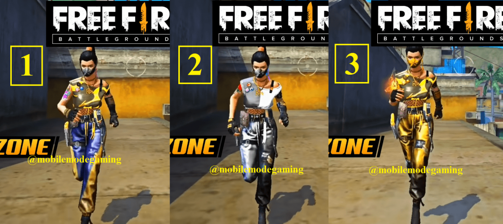 Free Fire Next Incubator Details - August 2020