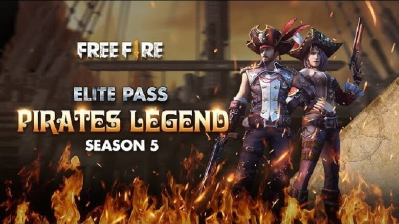 Free Fire All Season Elite Passes (Season 1 to 27)