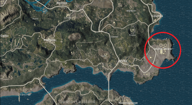 PUBG Mobile Erangel Map: Best Flare Gun Locations