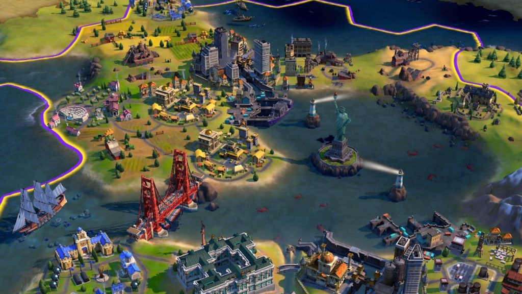 Civilization VI: The popular strategy game released on Android