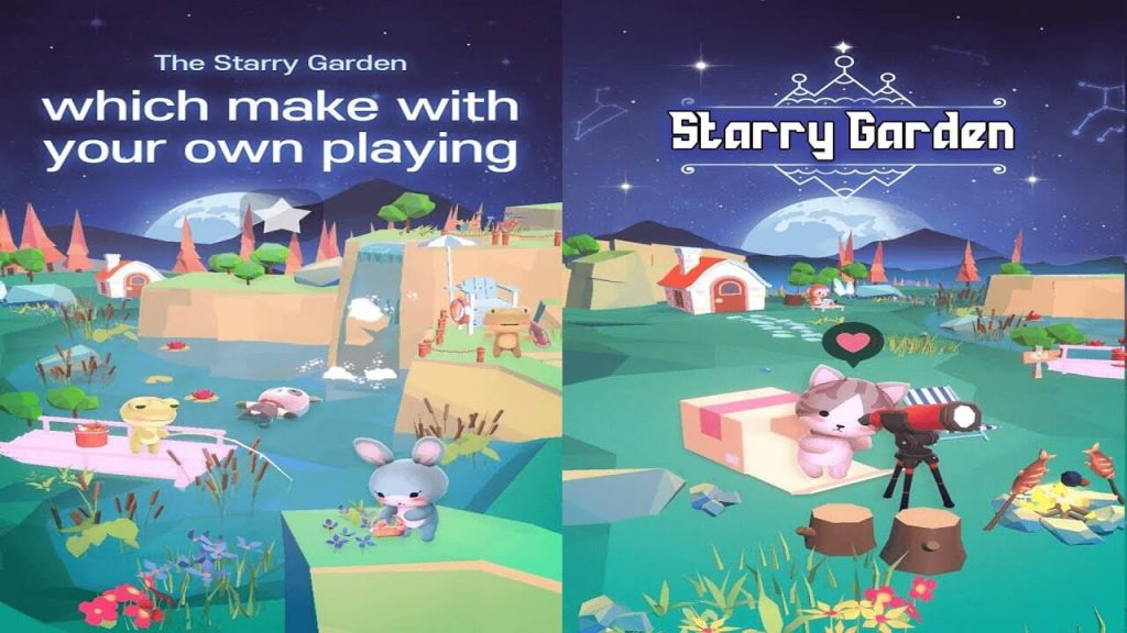 Starry Garden: A stress-free game that will make you smile