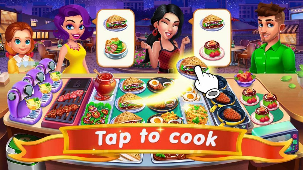 Cooking Sizzle: Master Chef - A fun online cooking game