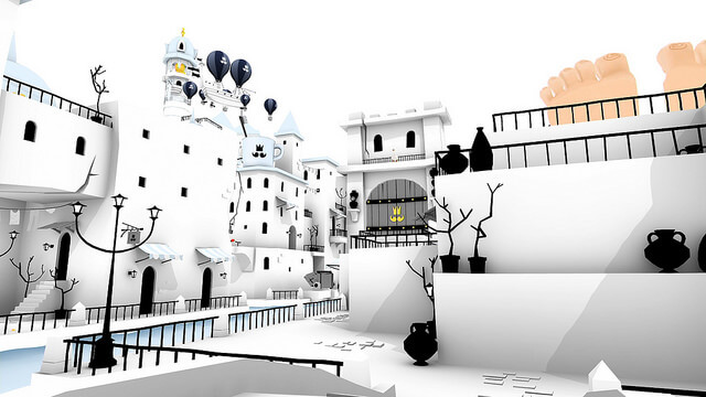 """The Beautiful Adventure Game """"The Unfinished Swan"""" Is Finally Available For iOS."""