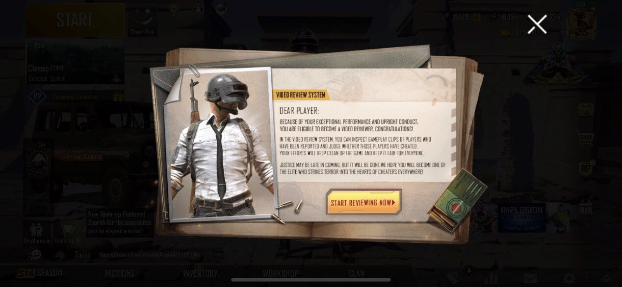 How To Become A Video Review System Investigator in PUBG Mobile?