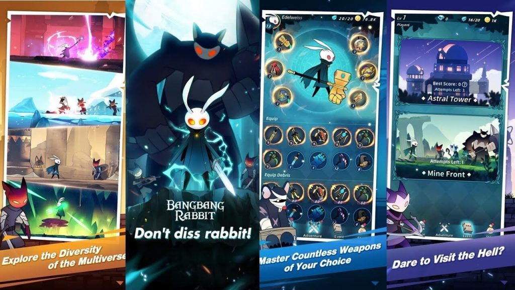 Bangbang Rabbit! Early Access Version Drops on Google Playstore
