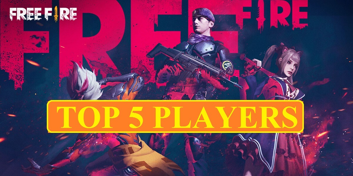 Top 5 Free Fire Players In World 2020 Their Alter Ego Mobile Mode Gaming