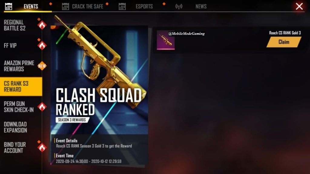 Here is How To Get Free 'Golden FAMAS' In Free Fire
