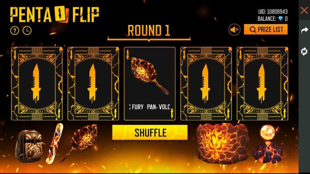 Free Fire Penta Flip Event Details: Best Event To Spend Diamonds