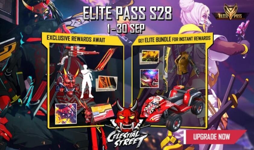 Free Fire Season 29 Elite Pass Released Date Revealed