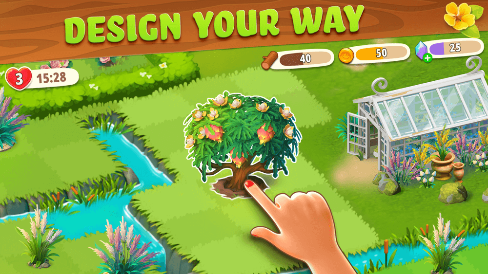 Merge Gardens by Future Play is Now Out on Android and iOS