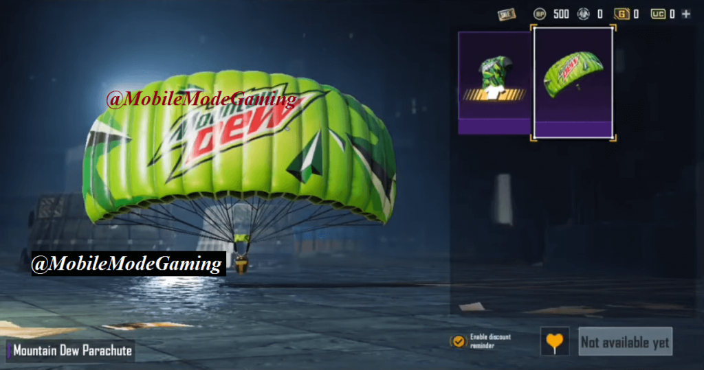 PUBG Mobile x Mountain Dew Collaboration: Date, Skins & Details
