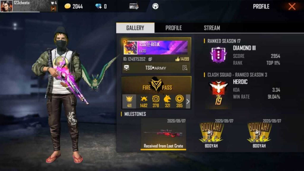 Top 5 Free Fire Players In World 2020 & Their Alter Ego