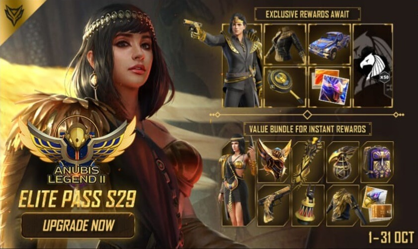 Free Fire Season 30 (November 2020) Elite Pass Release Date Revealed