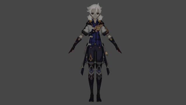 Genshin Impact: New Character Albedo Leaked Information