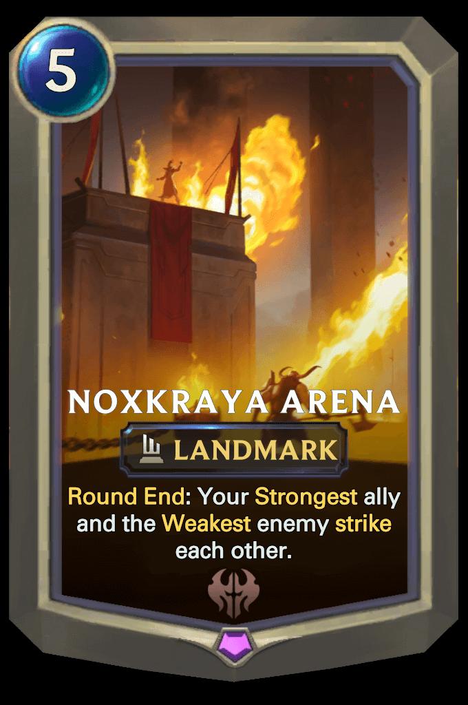 Legends Of Runeterra: Sixth Landmark - Noxkraya Arena Revealed